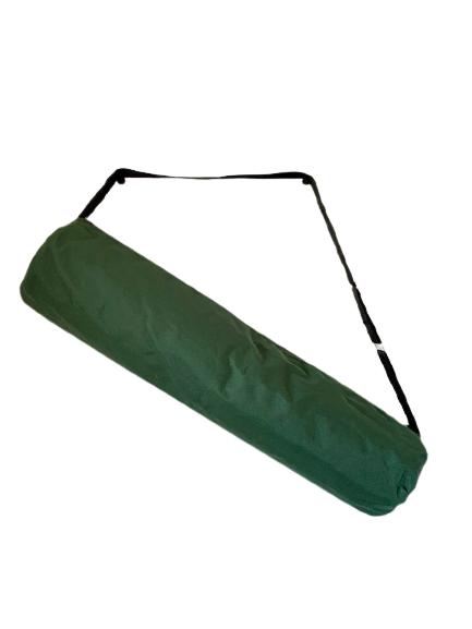 Impregnirana torba za joga prostirku tamnozelena sa postavom