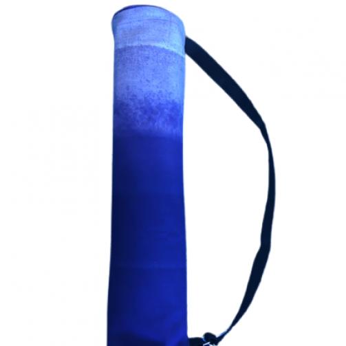 Joga torba od debelog pamuka plavi ombre