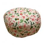 Jumbo zafu okrugli joga jastuk tropikana