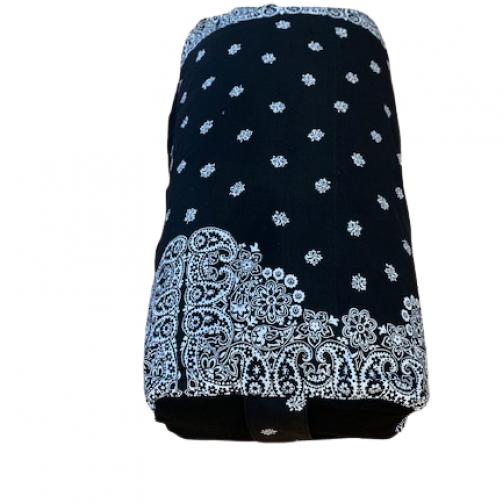 Joga jastuk za meditaciju bolster pravougli u dve boje