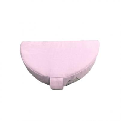 Joga jastuk za meditaciju polumesec portabl puder roze