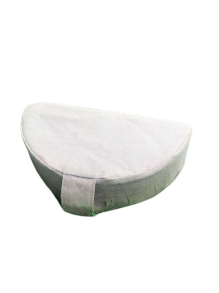 Joga jastuk za meditaciju polumesec portabl lavanda