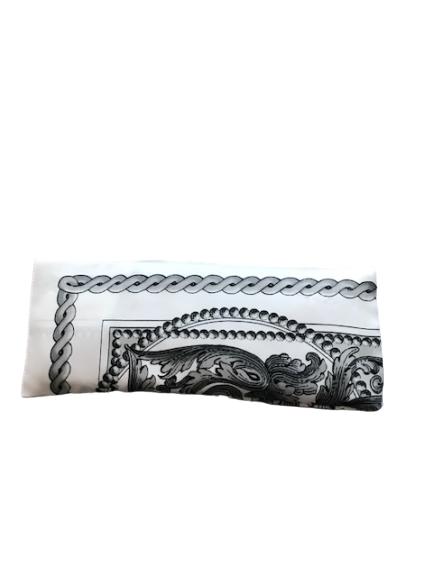 Meditacija relax lavanda jastucici za oci Kašmir belo crni