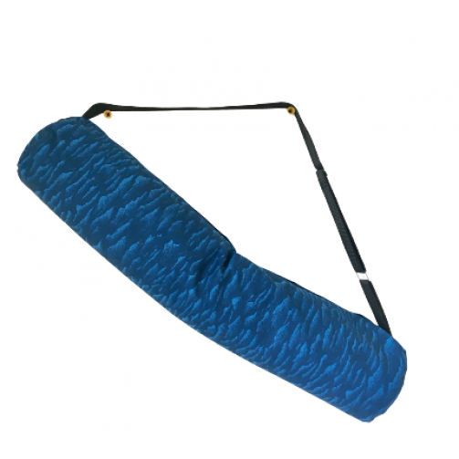 Joga torba pamučna postavljena plavi talasi