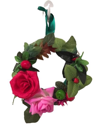 Dekorativni venac za vrata Letnje ruže
