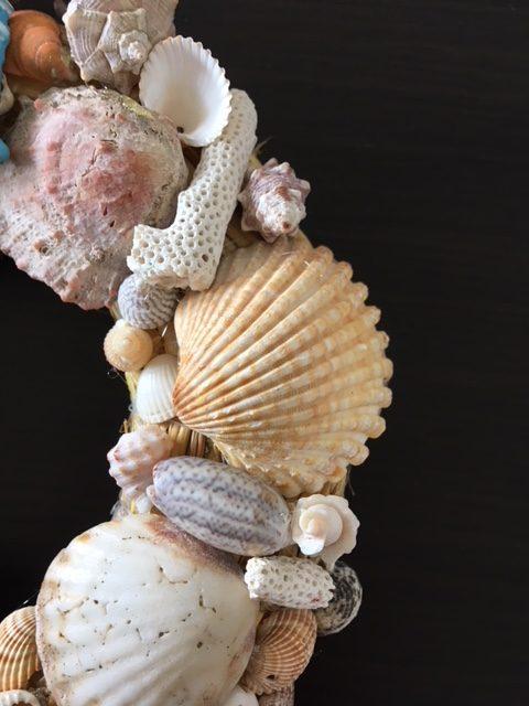 Dekor venac za vrata Morske školjke