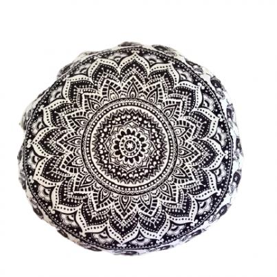 Okrugli zafu joga jastuk za meditaciju mandala