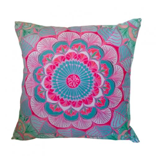 Joga jastuk za meditaciju i dekoraciju pastelna mandala